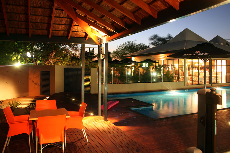 Pool hotel Broome